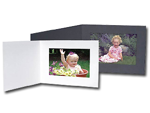 Cardboard Photo Folders 5x3-1/2 Horizontal (25 Pack)