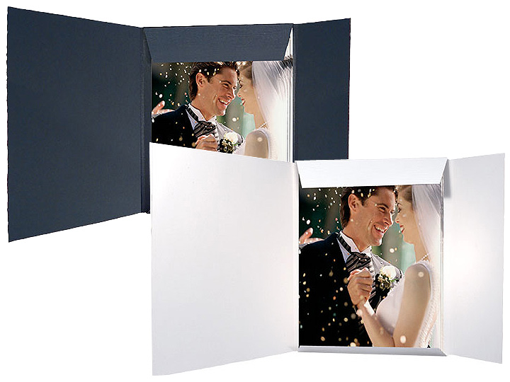 Black Presentation Folders For 8x10 (25 Pack)
