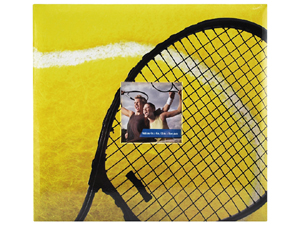 MBI 12x12 Tennis Scrapbook