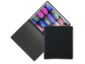 PRAT 138 Slim Pampa Black Presentation Books