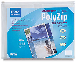 Itoya Art Profolio PolyZip Envelope For 8-1/2x11 (12 Pack)