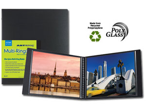 Itoya HRM-14-11 Multi-Ring Mini Binder For 14x11 Landscape