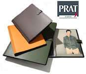 PRAT Pampa 11x14 Leather Spiral Presentation Book