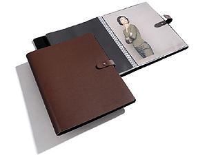 PRAT Pampa 9.5x12.5 Leather Spiral Presentation Book
