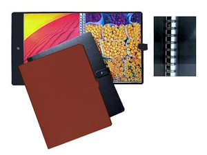 PRAT Pampa 5x7 Leather Spiral Presentation Book