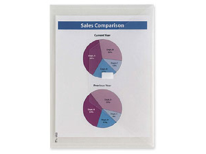 Itoya Velcro Poly Envelopes - Letter Size Documents 13x9-3/8