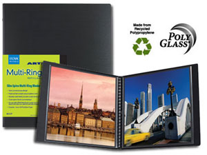 Itoya RM-8-11 Multi-Ring Mini Binder For 8.5x11