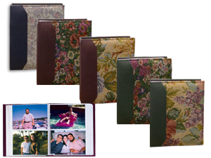 Pioneer VTS-246 Tapestry Fabric Photo Album