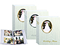Pioneer WAF-46 Oval Framed Wedding Album