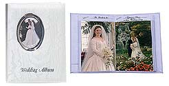 Pioneer WFM-46 Oval Framed Wedding Album
