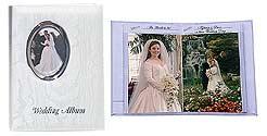 Pioneer WFM-46 Oval Framed Wedding Album